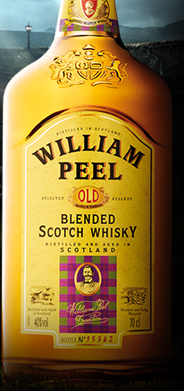 William Peel - Blended Scotch Whisky