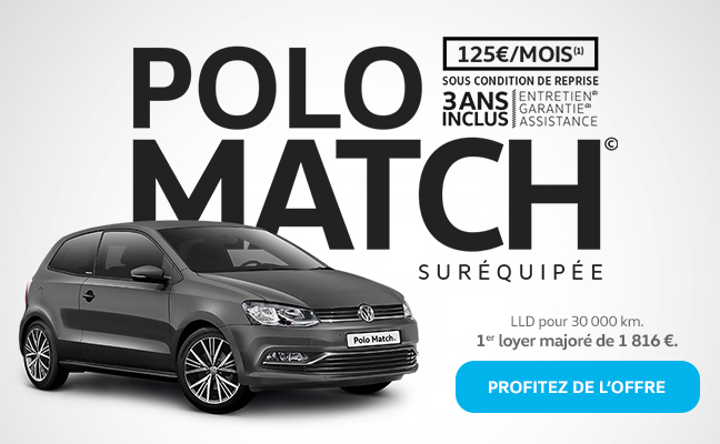 ex a pericos volkswagen vous invite essayer la polo match sur quip e. Black Bedroom Furniture Sets. Home Design Ideas