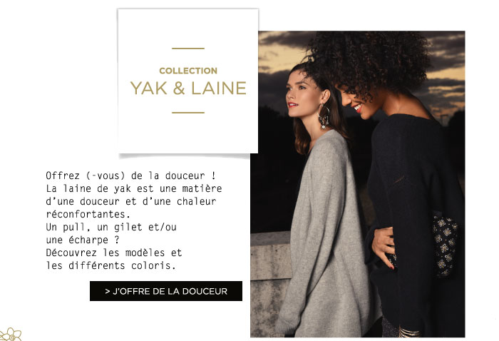 COLLECTION LAINE & YAK